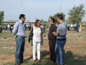 Felisa Rosado Diputa Provincial del PP, con miembros del PP Local