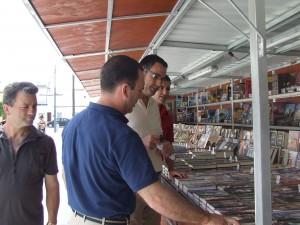 Silvestre Castells en la Feria del Libro