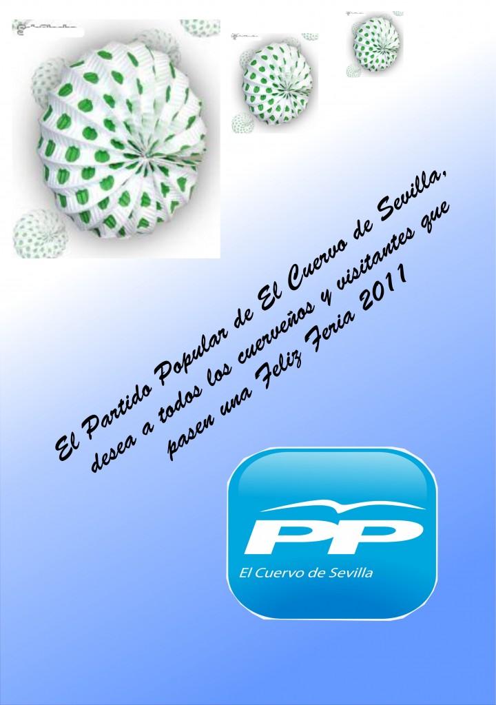 Felicitación PP Feria 2011